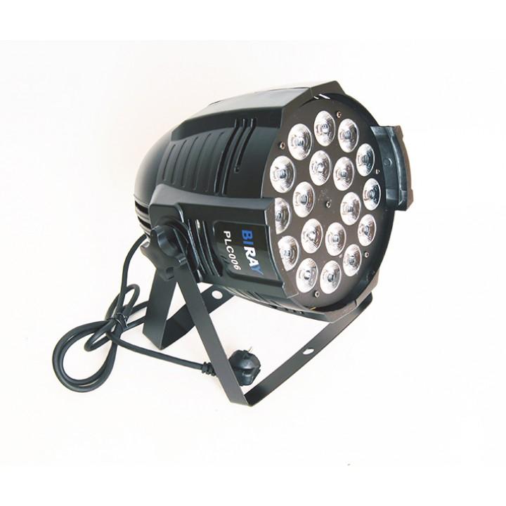 PLC006 Светодиодный прожектор, RGBW 18х12Вт - Bi Ray