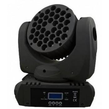 LM108A Моторизированный светодиодный прожектор заливающего света RGBW 36*3 Вт - Big Dipper