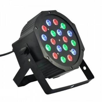 PL008 Светодиодный прожектор - Bi Ray (RGB 18х1Вт)