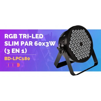 LPC180  Светодиодный прожектор - Big Dipper RGB, 60х3Вт