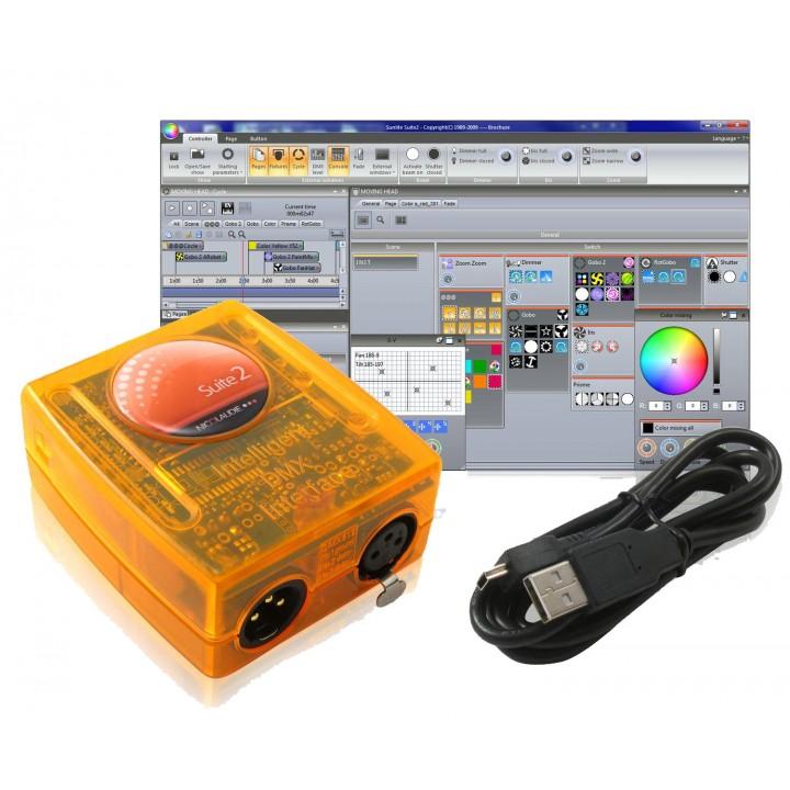 SUITE2-BC Компьютерный  DMX интерфейс - SUNLITE