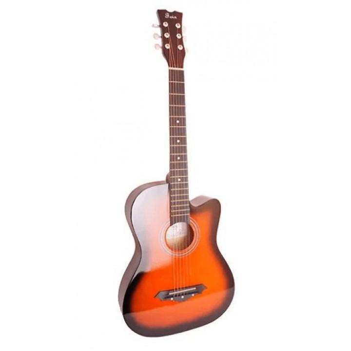 FFG-1038SB Акустическая гитара, санберст, с вырезом - Foix
