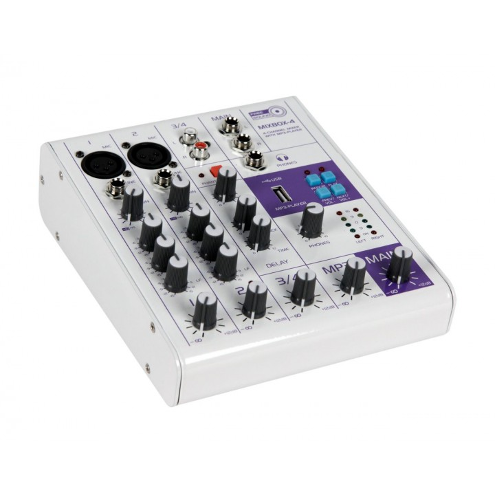 Микшерный пульт - FREE SOUND MIXBOX-4