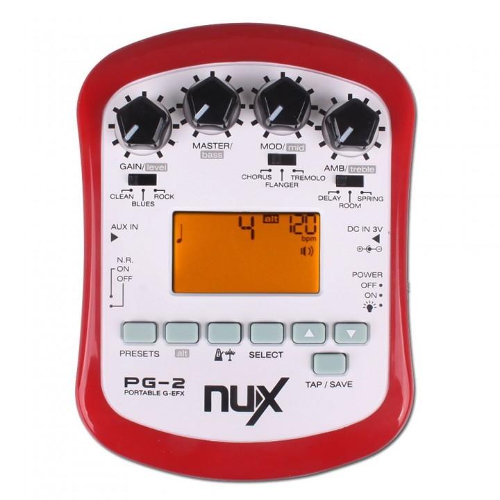 Портативный процессор для акустической гитары - Nux Cherub - PG-2
