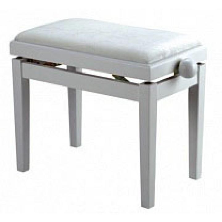 Банкетка для пианиста, цвет белый Rin - HY-PJ018A-GLOSS-WHITE