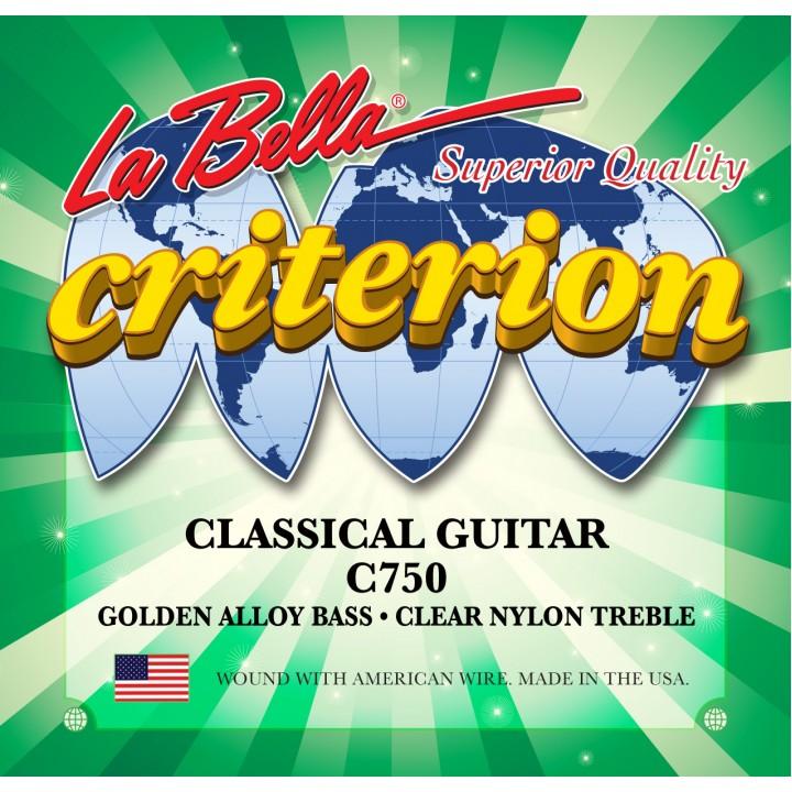 C750 Criterion Комплект струн для классической гитары - La Bella