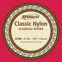 J2704 Отдельная 4-ая струна для классической гитары -  D'Addario J2704 Classical