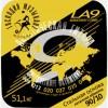 LA09 90/10 Комплект струн для акустической гитары, латунь - Господин Музыкант