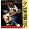Набор струн для акустической гитары - A206-SL, Alice