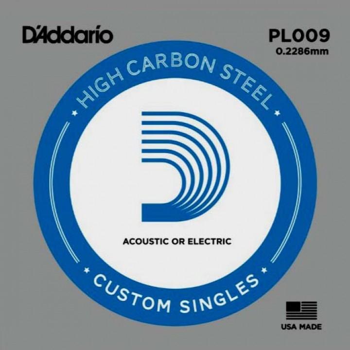 Одиночная струна - D'ADDARIO PL009