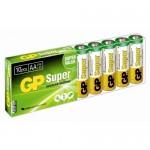 Элемент питания - GP Super Alkaline AA алкалиновый (10 шт упаковка)