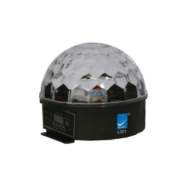 L001 Светодиодный эффект «магический шар» Big Dipper 6x3Вт, DMX