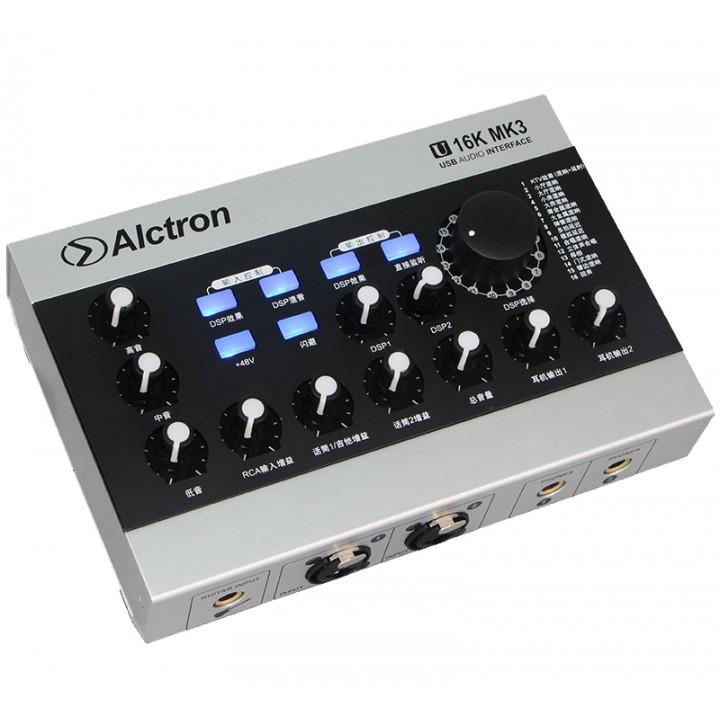 U16K-MK3 Аудиоинтерфейс USB - Alctron