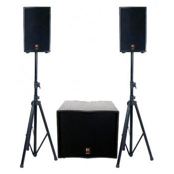 FOCUS-1100A-USB Активный акустический комплект - EUROSOUND