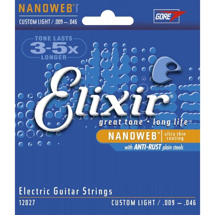 12027 Струны для электрогитары - ELIXIR