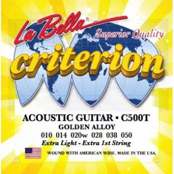 C500T Струны для акустической гитары - La Bella