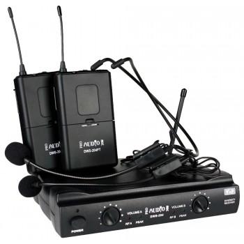 DWS-204PT Беспроводная микрофонная система - PROAUDIO