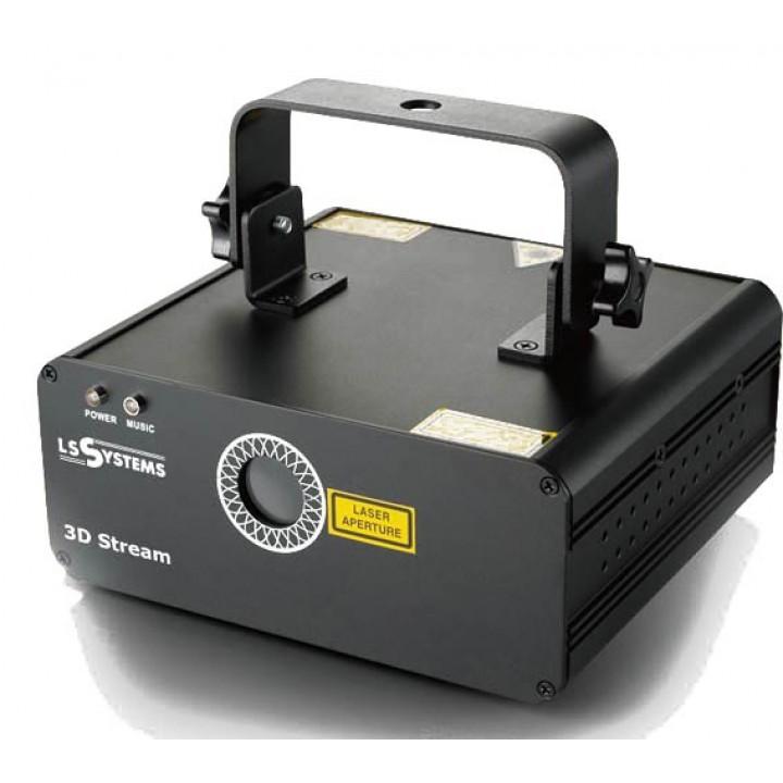 3D Stream Лазер дискотечный - LS Systems