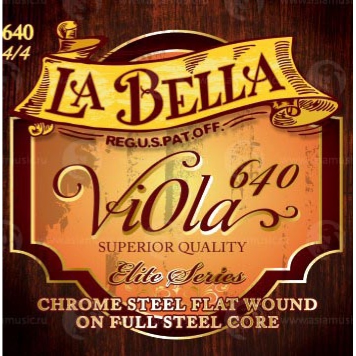 640 Струны для альта - La Bella