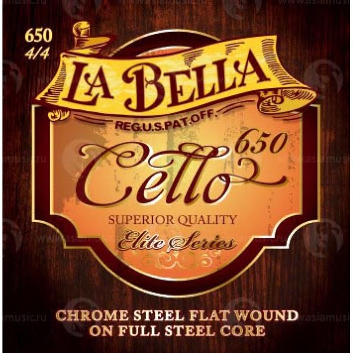 Струны для виолончели - La Bella 650