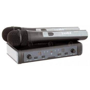 DWS-807HT Радиосистема с двумя ручными радиомикрофонами - PROAUDIO