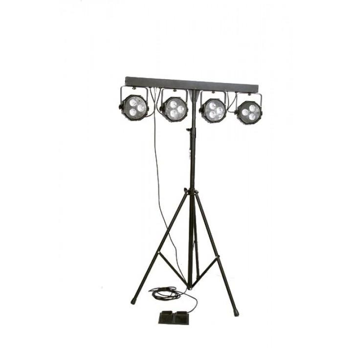 Прожекторы на стойке - EURO DJ LED PAR SET