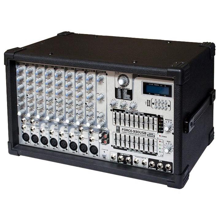 Активный микшерный пульт - EUROSOUND FORCE-930USB