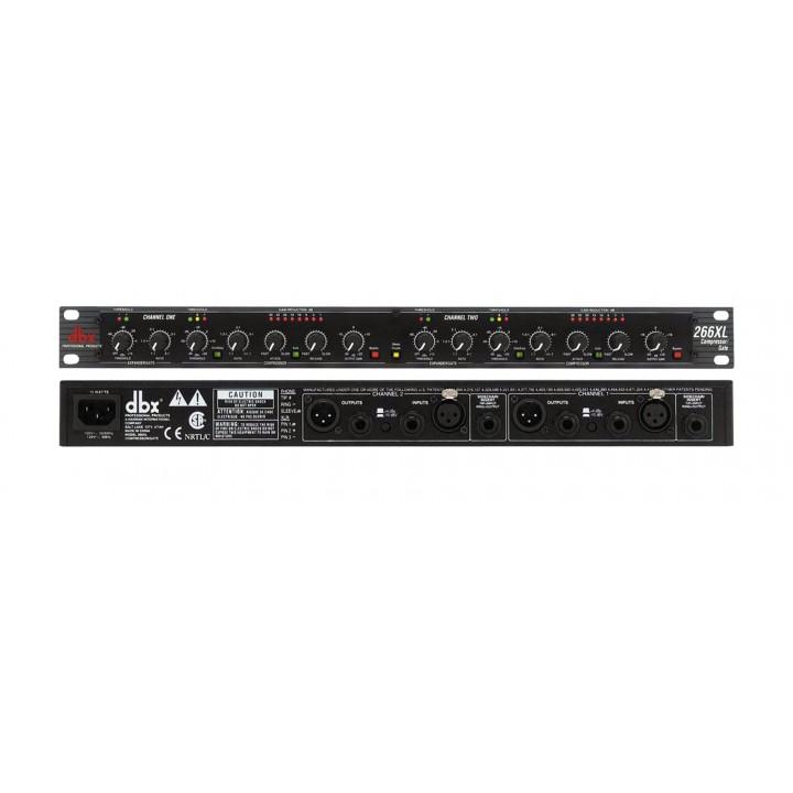 266 XSV Компрессор двухканальный, экспандер, гейт  - Dbx