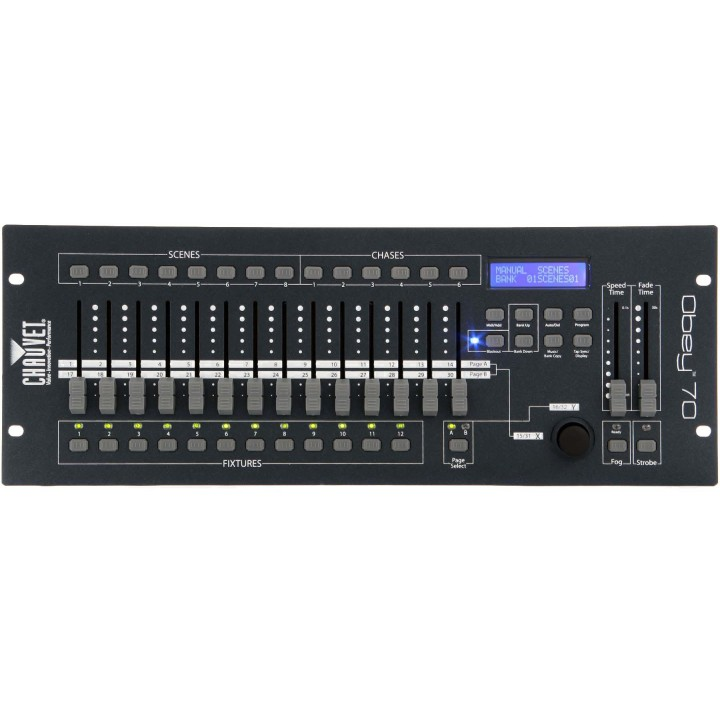 DJ Obey 70 Контроллер DMX - CHAUVET