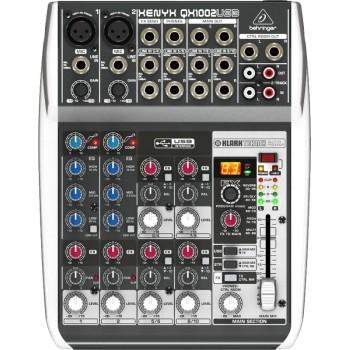 QX1002USB Микшер, 10 каналов, процессор эффектов - BEHRINGER