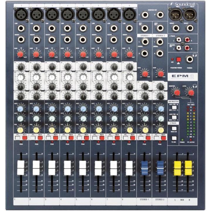 EPM 8 Микшерный пульт -  Soundcraft