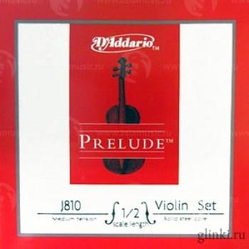 Набор струн для скрипки - D'ADDARIO J810 1/2M