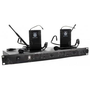 MD880P Радиосистема с портативными передатчиками - WOLDY